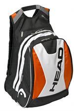 Head Backpack - Orange/Black/White