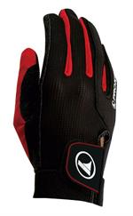 Pro Kennex Ovation Racquetball Glove - Black/Red