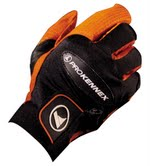 "Pro Kennex Ovation Racquetball Glove - Black/Orange ""Limited"""