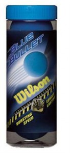 Wilson Blue Bullet 3/Ball Can