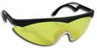 Rad Turbo Eyewear - Black w/Amber Lens