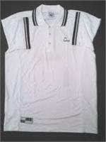 Head Dry Wick Polo - White w/Black (Old Logo)