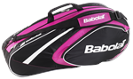 Babolat Club Line Pink 6 Pack Bag