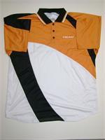 "Head Dry Wick Polo 2006 - White/Orange/Black ""Medium Only"""