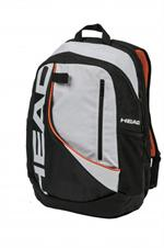 Head Pro Backpack - Black/White/Orange