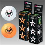 Butterfly 3-Star Balls - 40mm og 3/box