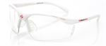 Gearbox White Vision Eyewear (Slim)