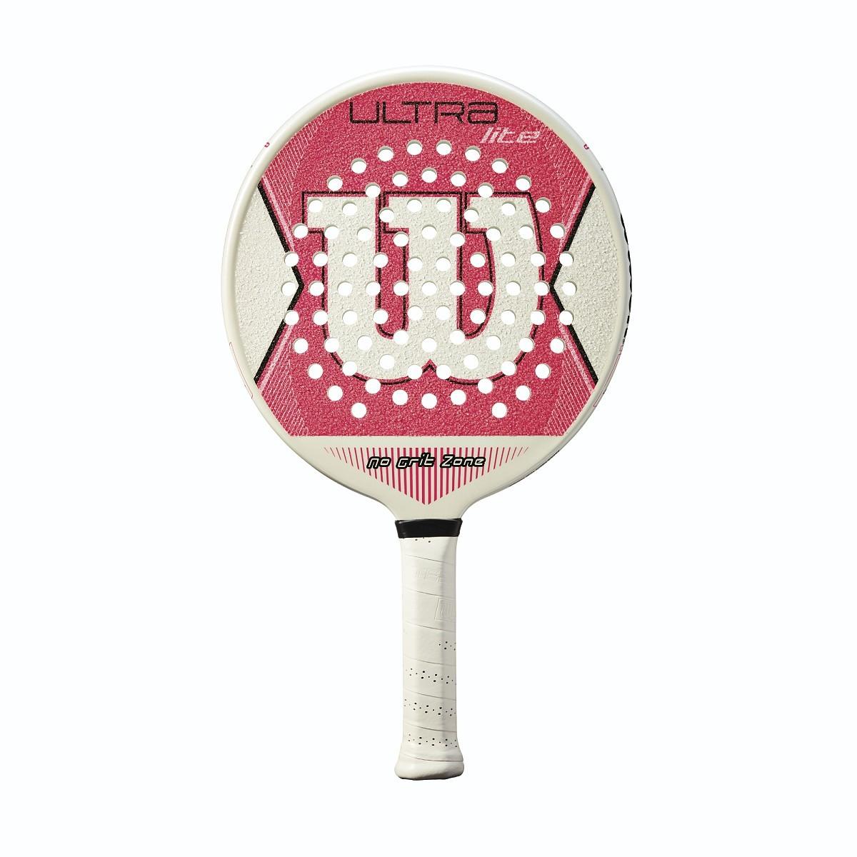Wilson Ultra Lite Pink Platform Tennis Paddle